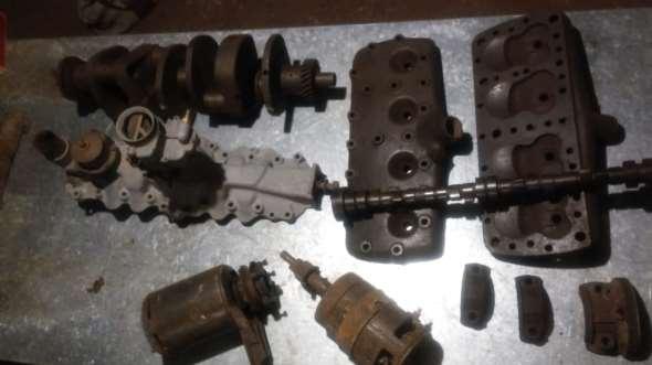 Part Motor V8 Flathead