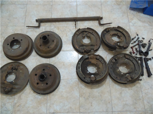 Part Brake rods Ford A