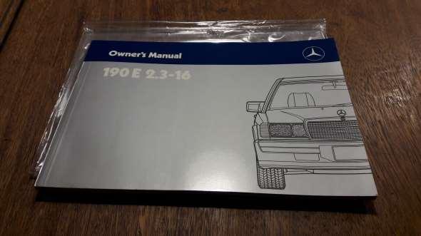 Part Manual Del Propietario Original Mercedes Benz 190e 2.3-16