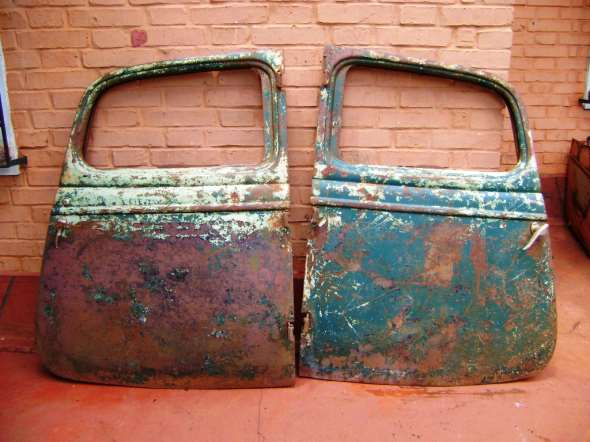 Part Pair doors 34 Ford