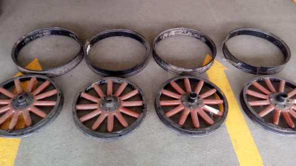 Part Juego Ruedas Chevrolet / Pontiac