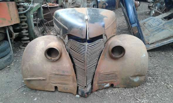 Repuesto Trompa Chevrolet 1939