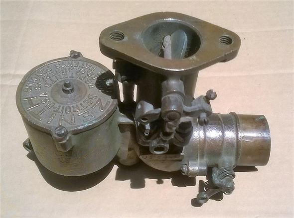 Part Bronze Zenith carburetor