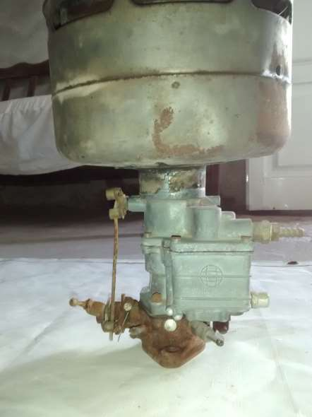 Part Carburettor and air filter 37 Chevrolet