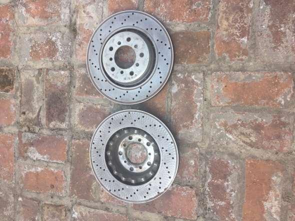 Repuesto Discos Frenos Delanteros M3 E46