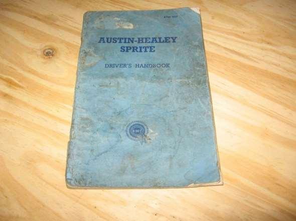 Repuesto Austin Healey Sprite Mk1 Manual