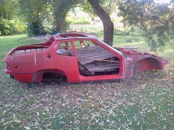 Repuesto Carroceria Porsche 924