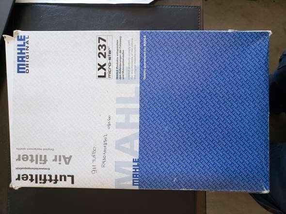 Repuesto Filtro Aire Mahle Lx237