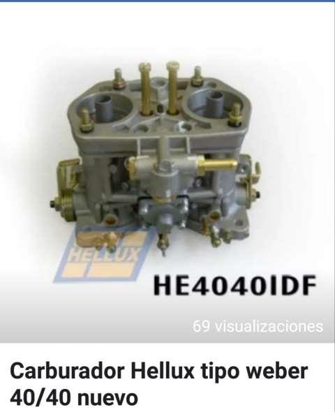 Carburador Hellux Tipo Weber 40/40