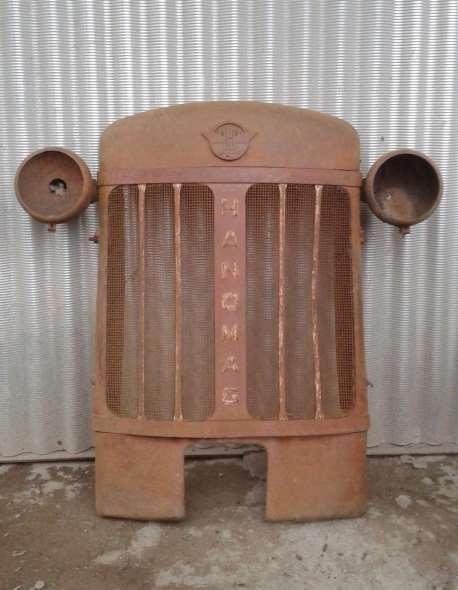 Repuesto Mascara Rejilla Frente Tractor Hanomag