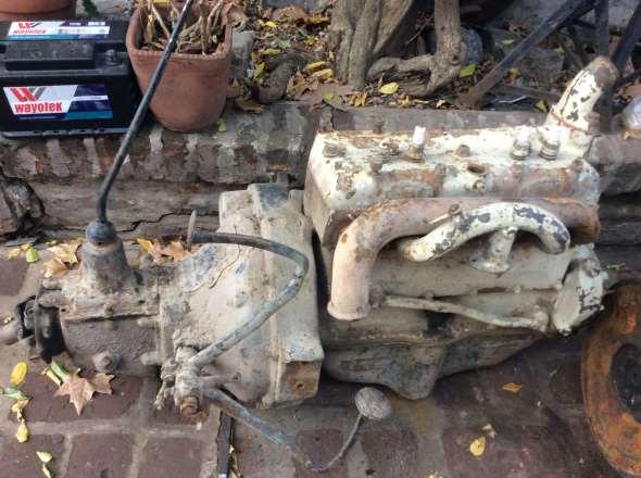 Repuesto Motor Y Caja Ford A