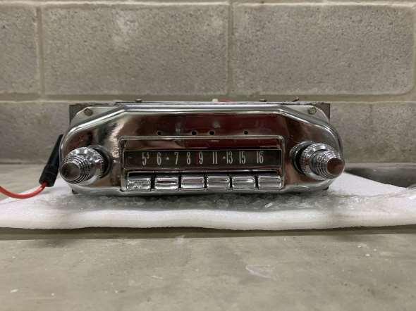 Radio Mercury Ford 1958 A 1960