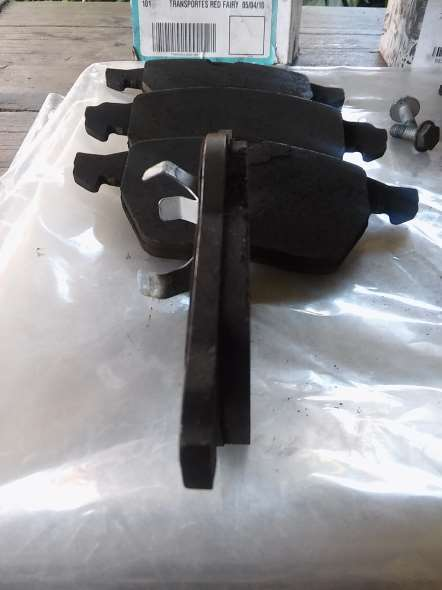 Repuesto Pastillas Freno Delanteras Audi A4/a3/vento/passat