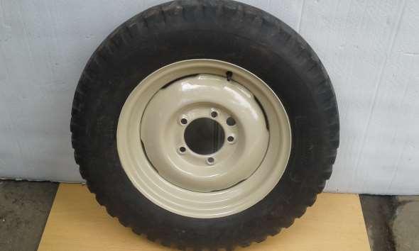 Repuesto Llanta 600x16willys Ika Jeep Estanciera Con Cubierta