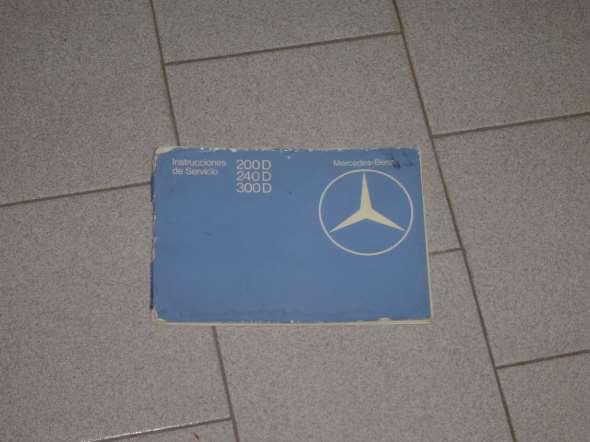 Repuesto Manual Mercedes Benz W123 Diesel