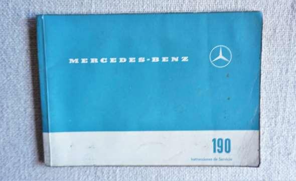 Instrucciones Servicio Mercedes Benz 190 C