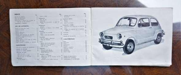 Repuesto Uso Y Mantencion Fiat 600 R