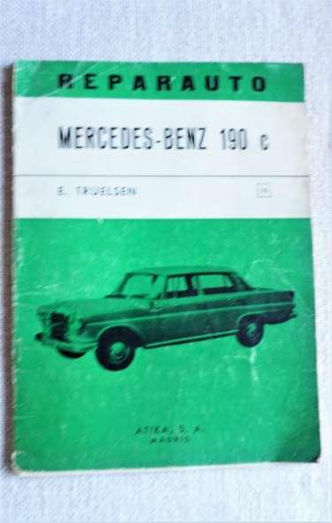 Repuesto Bereve Manual Reparacion Mercedes Benz 190 C