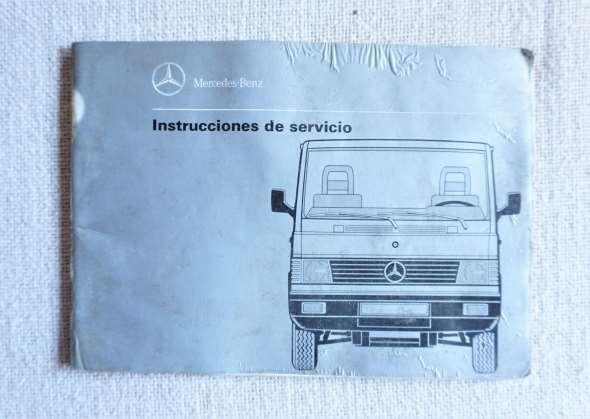 Instrucciones Servicio Mercedes Benz 100 D, 140 D, 180 D