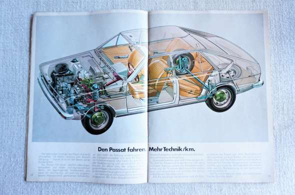 Manual Ventas Vw Passat 1500/1600