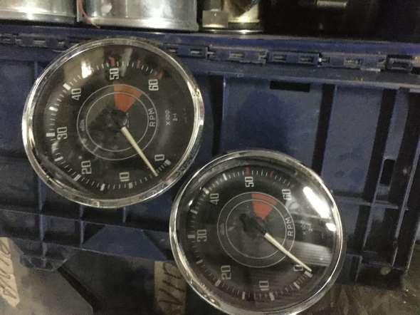 Relojes Tablero Triumph Tr3