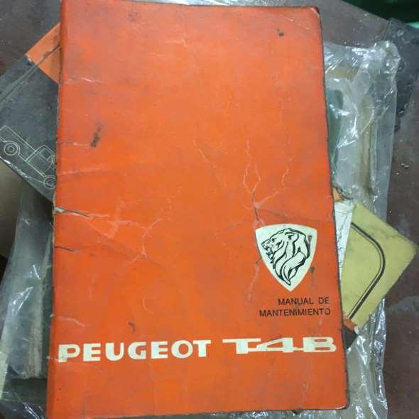 Manual Peugeot T4b
