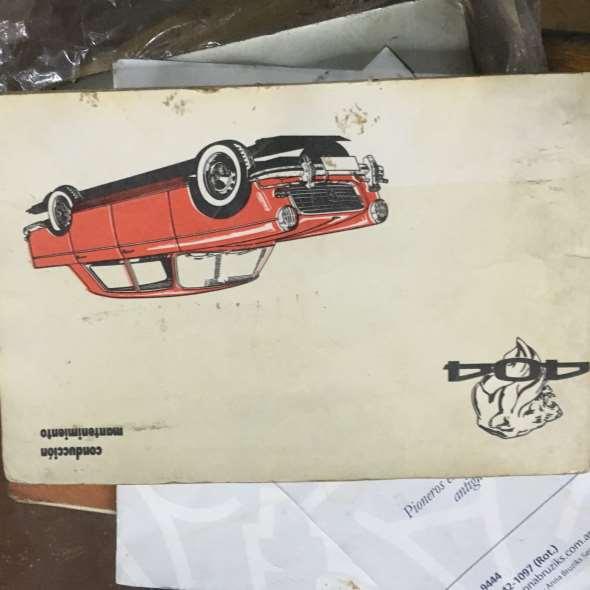 Manual Guantera Peugeot 404