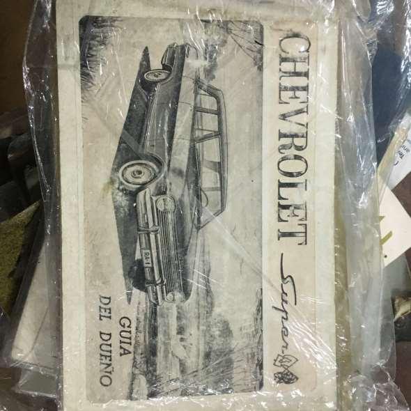 Manual Chevrolet Super