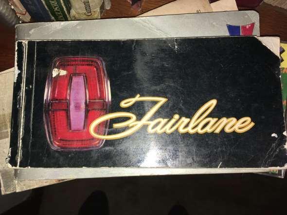 Manual Fairlane