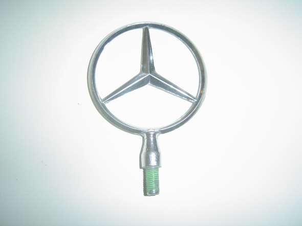 Insignia Parrilla Capot Mercedes Benz Metal