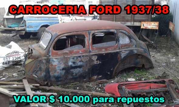 Repuesto Carroceria Ford 1938
