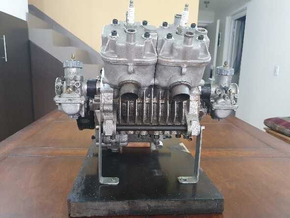 Motor Morbidelli 125 Mba