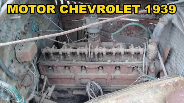 Motor Chevrolet Año 1939 6 Cilindros