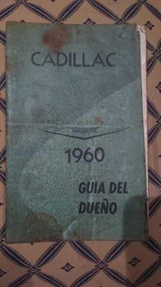 Manual Del Propietario Cadillac 1960
