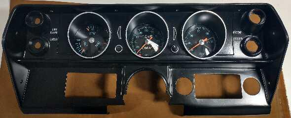 Tablero Chevy Serie 2/coupe/ss Restaurado Impecable