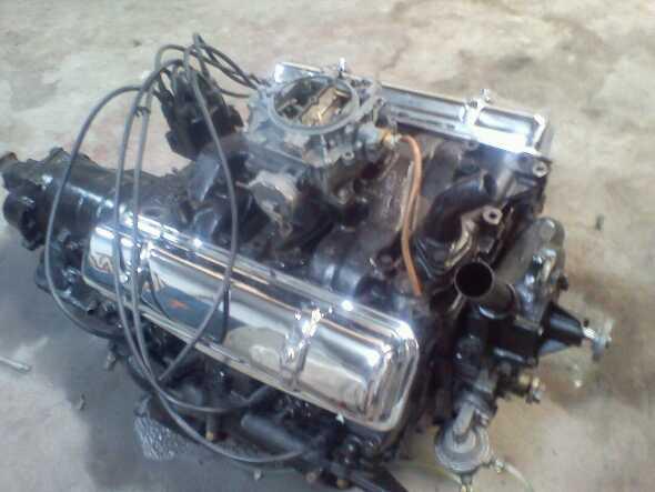 Motor Y Caja Oldsmobile 1958
