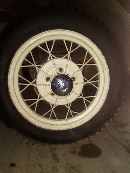 Juego 5 Ruedas Ford A 1931