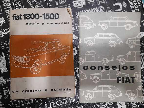Manuales Antiguos Fiat