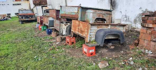 Dos Cajas Angostas Ford F100 Años 1957 Al 66