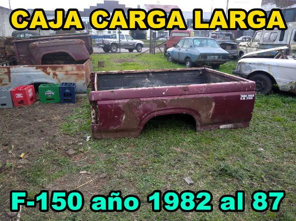 Caja Carga Ford F150 Año 1982 Al 87