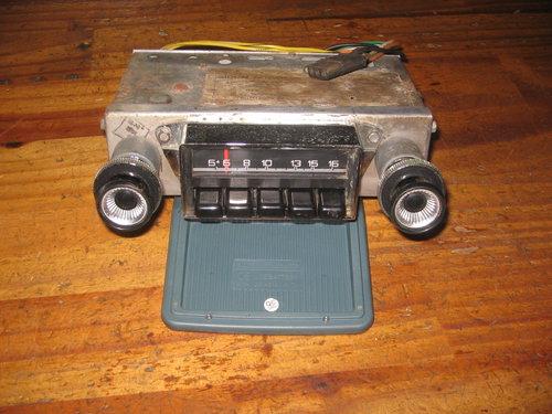 Part Radio Philco Ford Falcon