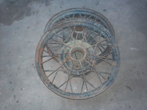 Part Ford Model A Tires