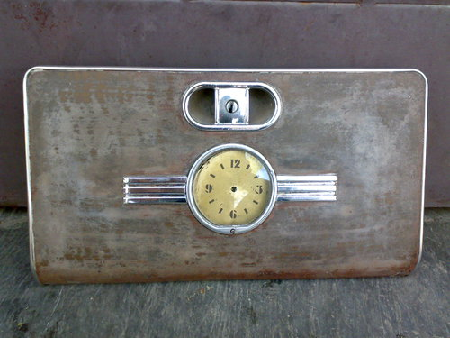 Part Cover Glove Box Clock Mercury 1939