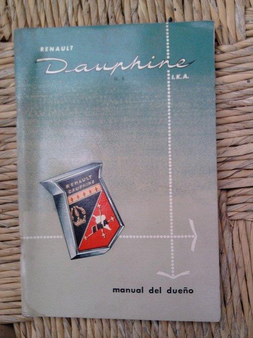 Repuesto Manual Guantera Gordini