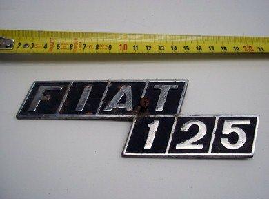 Repuesto Insignia Fiat 125