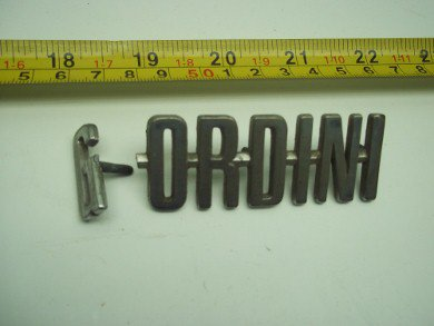 Part Gordini Badge