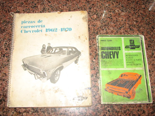 Repuesto Manuales L�nea Chevy