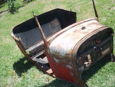 Repuesto Carrocer�a Ford A 1928 1929 Coup�