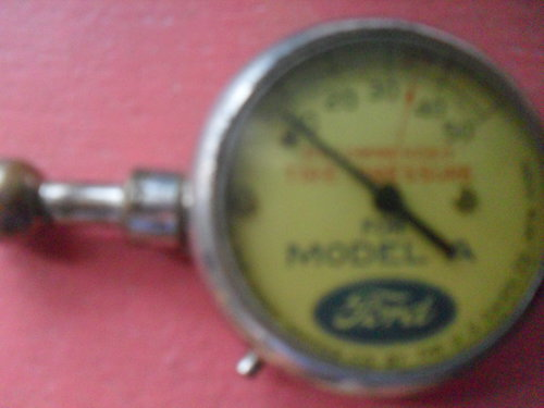 Part Measuring Pressure Ford Model A