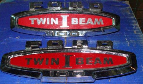 Part Ford F-100 Twin Beam Emblem